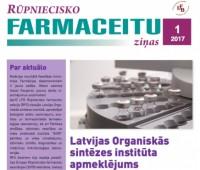 Rūpniecisko farmaceitu sekcijas ziņu biļetens Nr. 1-2017?v=1579315676