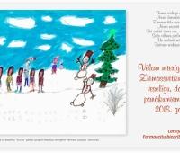 Vēlam mierīgu un gaišu Ziemassvētku laiku un veselīgu, darbīgu, panākumiem bagātu 2018. gadu?v=1619102532